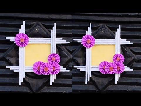 Origami - Frame (3D, DIY) - YouTube | 360x480