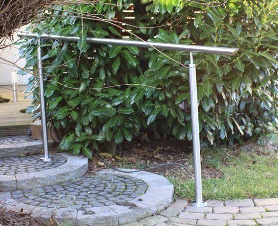Edelstahl Treppengeländer Balkongeländer Handlauf Bausatz Geländer