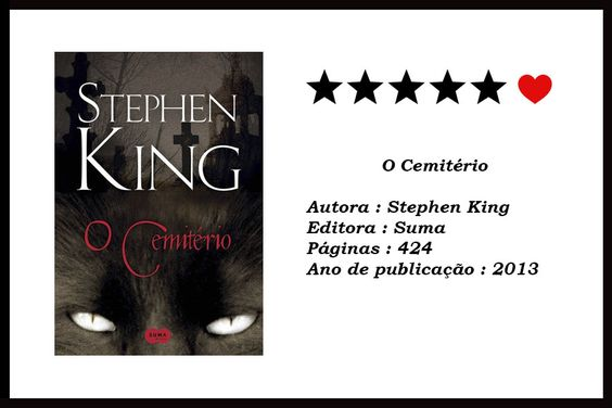 O CEMITÉRIO - Stephen King 😺 | Biblioteca da Rô #bibliotecadaro #booktuber #booktube #livrosdeterror #resenha #ocemiterio #stephenking #petsematary #cemitériomaldito #editorasuma #canalliterario #blogliterario