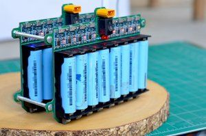DIY 18650 Lithium Ion Cells Charging Grid | Electronics