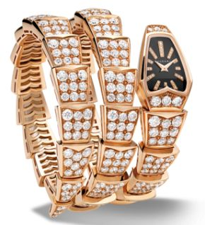 Bvlgari Serpenti with Diamond Bracelet