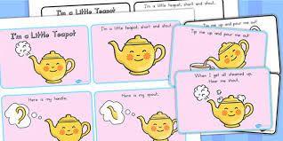 Resultado de imagen para I'm little teapot