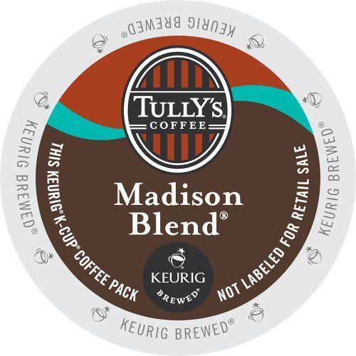 Keurig, Tully's Coffee, Madison Blend... $39.99