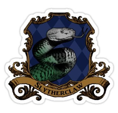 « Slytherclaw House Crest » par SedatedArtist