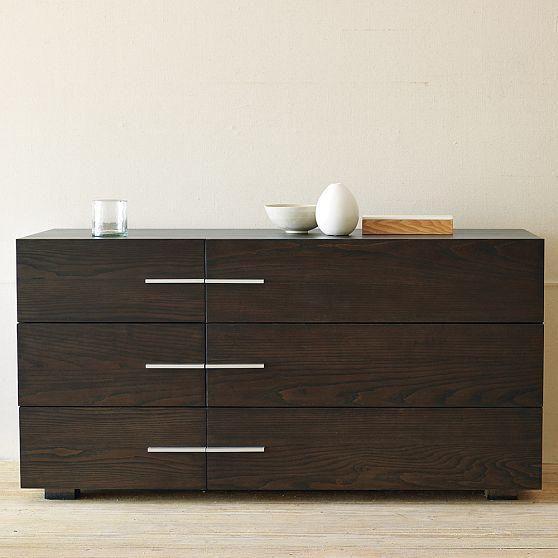 Comoda modelo seis cajones muebles enchapados pinterest - Comoda brimnes ...