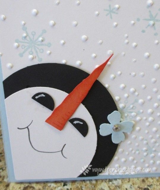 Stamp & Scrap with Frenchie: What's Up Snowman?