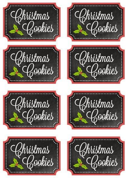 mason jar cookie gift ideas includes free printabl labels for the jars diy mason jar. Black Bedroom Furniture Sets. Home Design Ideas