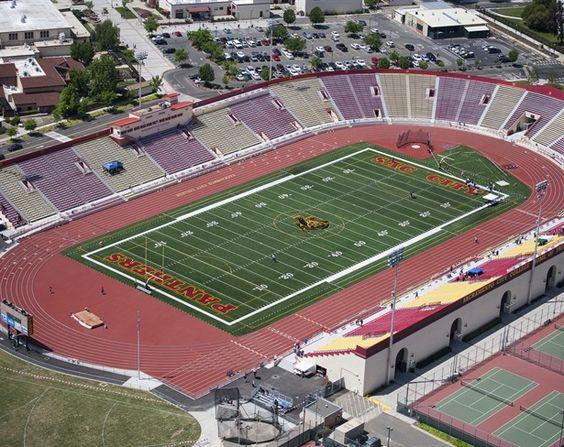 Sacramento City College Hughes Stadium
