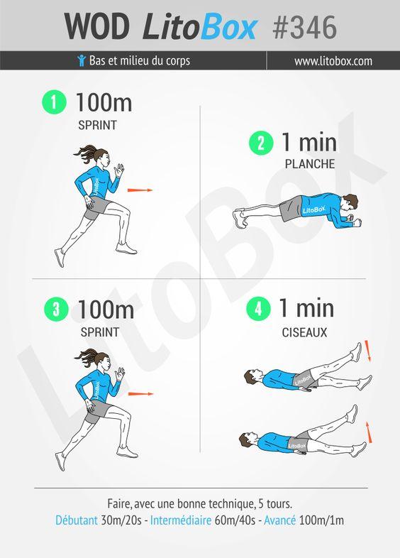 2 exercices au poids du corps pour perdre du gras (vous n'avez pas d'endroit pour sprinter ? vous avez un sol pour les burpees alors :p )  + Pensez à partager ce WOD ou à tagger vos amis pour les motiver à s'entraîner et les challenger.  Bon courage et bonne journée.  Pierre.