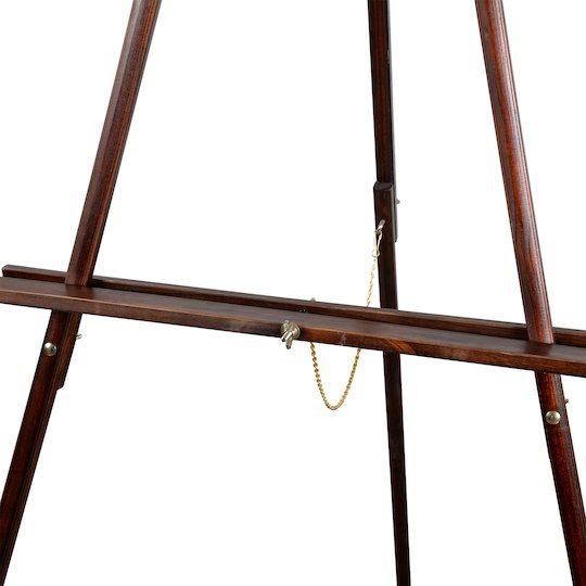Vintage Brown Floor Easel By Artist S Loft Floor Easel Brown Floors Classic Floors