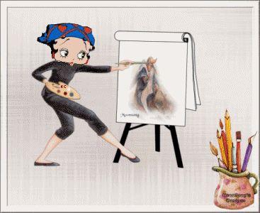 Betty: The Painter