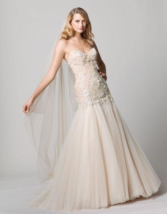 Wtoo Hera Gown  #WTOO #Watters #weddingdress http://www.pinterest.com/wattersdesigns/