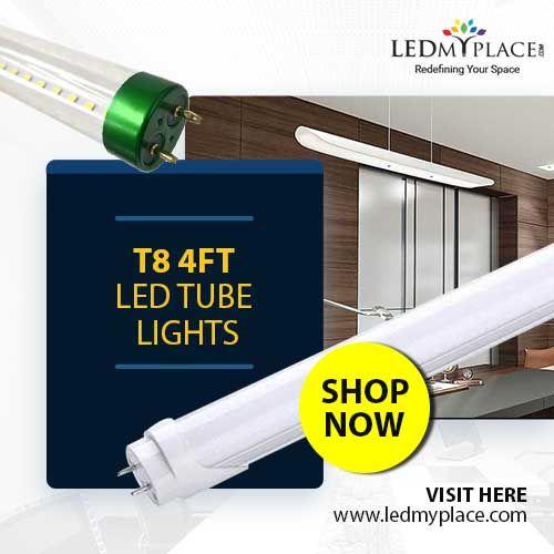 Using 4ft Led Tube Lights For Residential Places Led Tubes Led Tube Light Fluorescent Tube