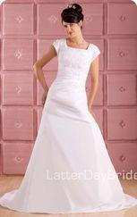 Vestidos de novias para santas de los Ultimos Dias - Galeria de vestidos de novia y Templos                                                                                                                                                     Más