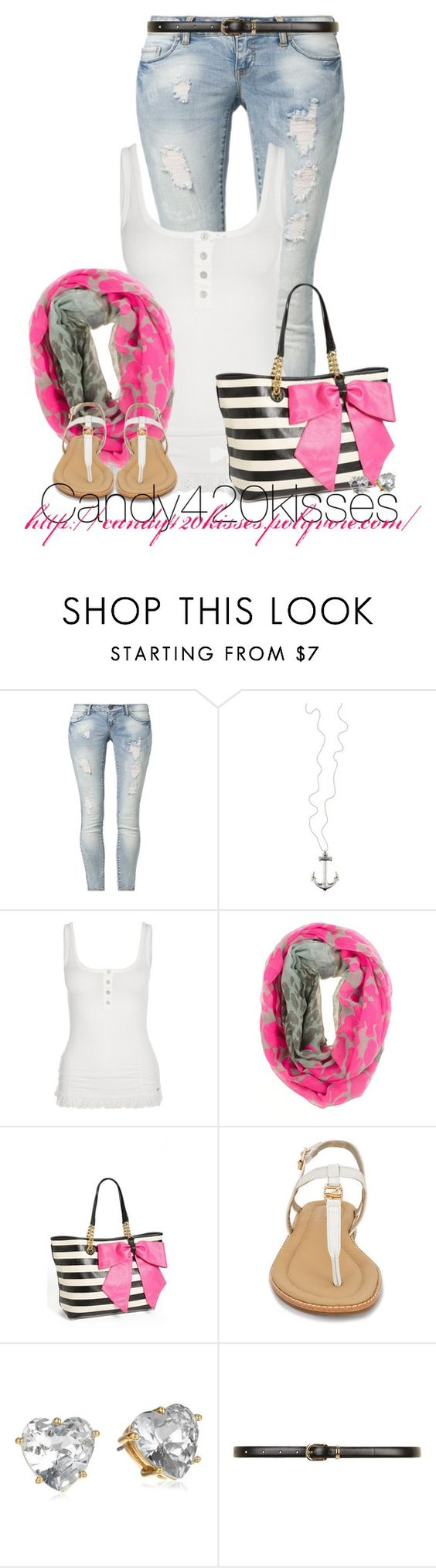 """Untitled #186"" by candy420kisses ❤ liked on Polyvore featuring ONLY, Fornarina, Betsey Johnson, Sperry, Juicy Couture and Dorothy Perkins"