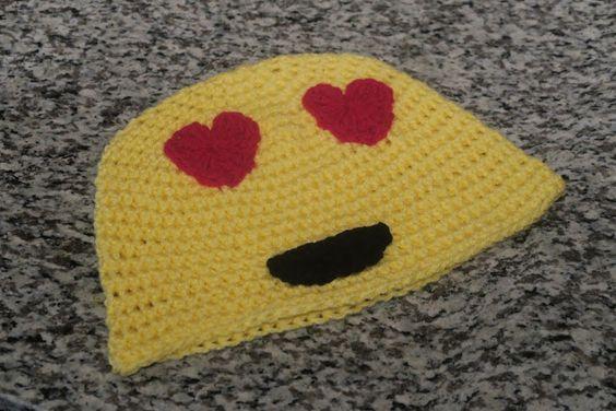 Emoji Knitting Needles : Heart emoji crochet hearts and hats on pinterest