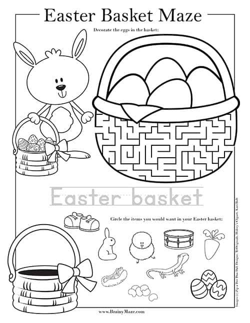Free Easter Mazes For Kids 13 Fun Educational Mazes Including Easter Cross Maze Easter Bunny M In 2020 Easter Classroom Activities Easter Worksheets Mazes For Kids
