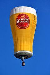 Carlton Draught #Beer Hot Air Balloon