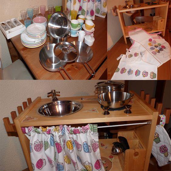 Ikea hack: La cocinita para jugar de Silvia : Baby-Deco