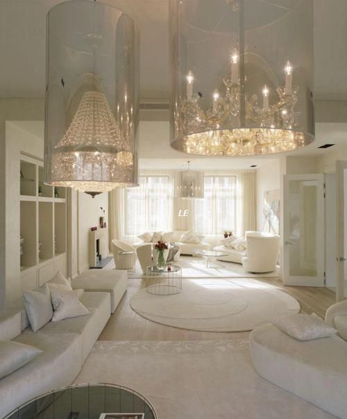 love the monochromatic interior :)