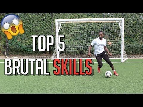 Top 5 Humiliating Skill Moves Football Skills Youtube Soccer Dribbling Drills Soccer Skills Soccer Workouts