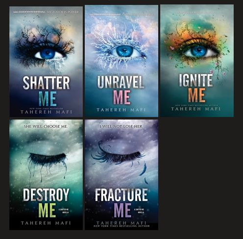 Shatter Me series.... Juliet bugged me until book 3. I felt bad for her though. These books made me laugh, cry, and smile from the romance!!