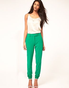 Enlarge ASOS Pant With Elastic Cuff