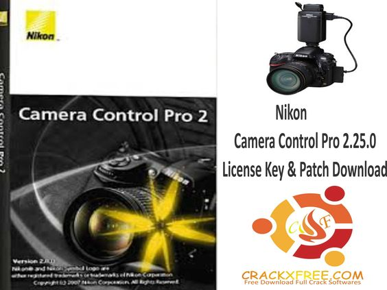 nikon camera control pro 2 serial only