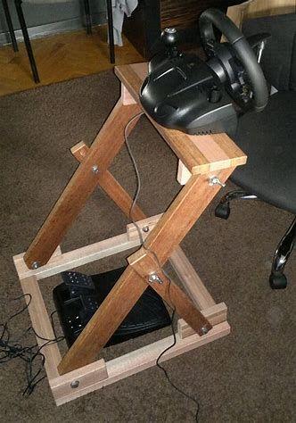 Resultado De Imagem Para Diy Steering Wheel Stand
