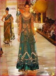 Green Indian Designer Collection.