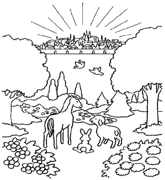 Coloring Pages With Heaven Coloring Coloring Pages