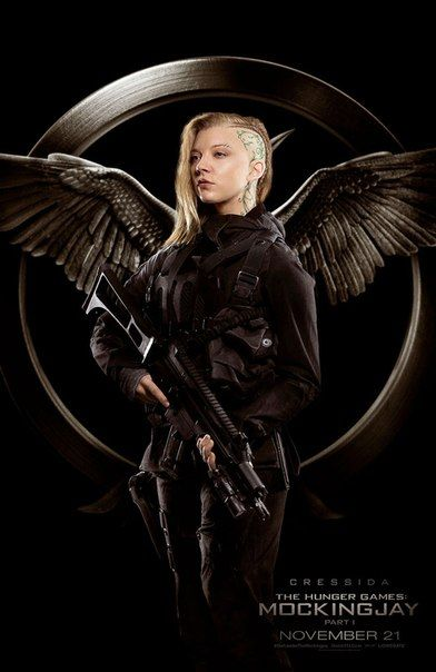 Nathalie Dormer as Cressida in new Mockingjay posters... so excited for the movie !!