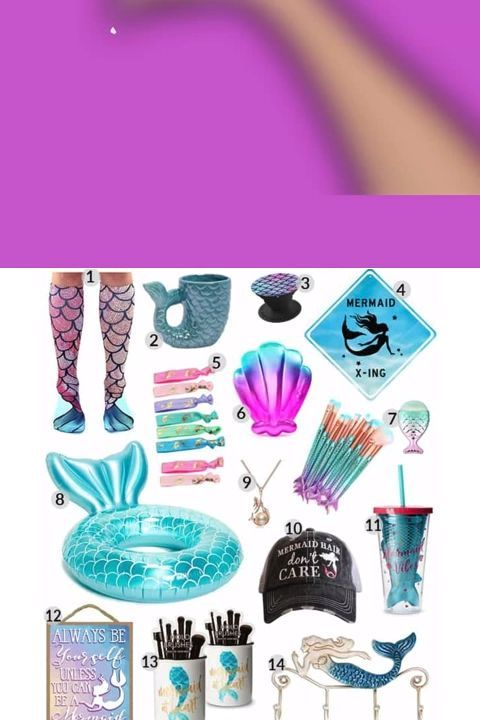 20 Mind Blowing Mermaid Gifts March 2020 Mermaid Gifts Little