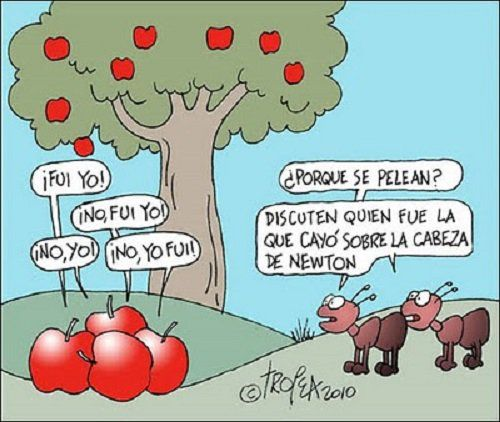¡La manzana que pasó a la historia! | Matemolivares