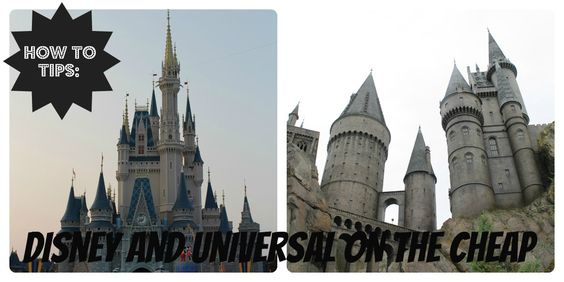Before Meets After: How to do Walt Disney World and Universal on the cheap!