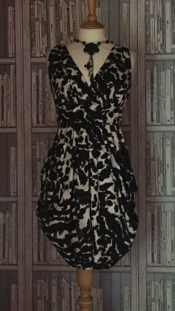 Bnwts Animal Print Dress Size By Dorothy Perkins Size 18 Ebay Animal Print Dresses Print Dress Summer Dresses Uk