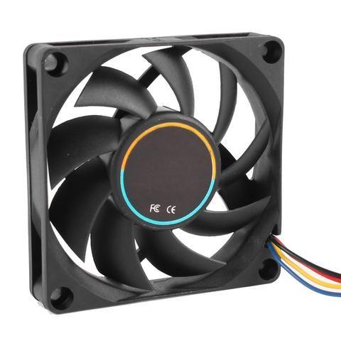 70x70x15mm 12v 4 Pins Pwm Pc Computer Case Cpu Cooler Cooling Fan