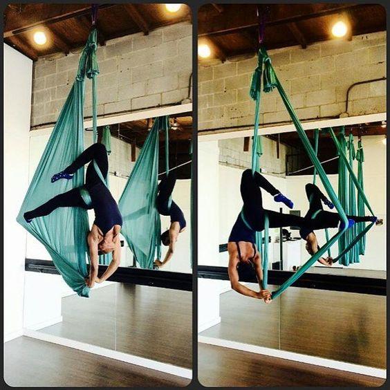 Aerial Yoga is so elegant