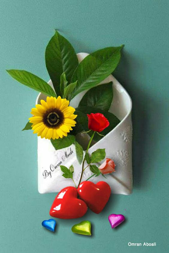 #Flowers - #Hearts