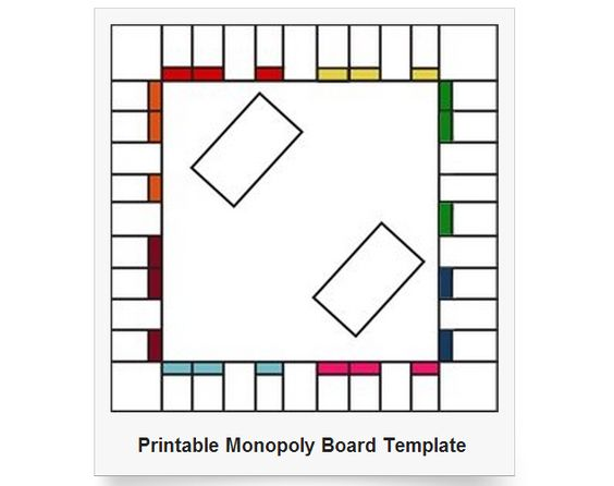 Handy Collection of Printable Game Boards! Includes…Monopoly,Checkers/Chess, Chutes and Ladders and more! Available in b/w and color as well as a variety of sizes.