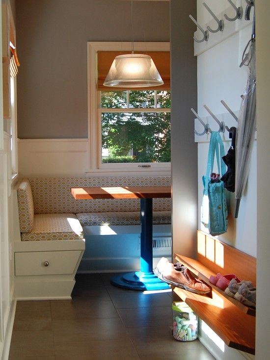 Easy, basic, fits anywhere! back door entry - contemporary - entry