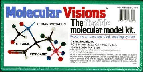 Download Pdf Molecular Visions Organic Inorganic Organometallic Molecular Model Kit 1 By Darlin Organic Chemistry Books Chemistry Book Pdf Chemistry Textbook