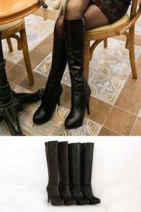 De nuevo vuelven las botas hasta la rodilla fanaticas de la moda