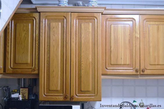 Armarios Cocina Madera Pintar Muebles Cocina Armarios De Cocina Pintados Pintar La Cocina