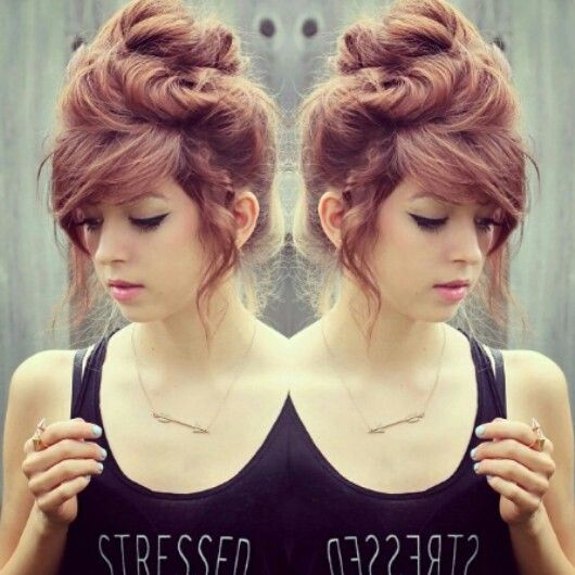 bun THIS IS SYDNEE I FOLLOW HER ON INSTA SHE IS AMAZING AND GORGEOUS GO FOLLOW HER @Liz Mester Williamson @free_for_all
