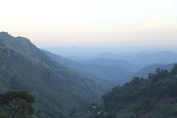 Mountain vista in Ella, Sri Lanka