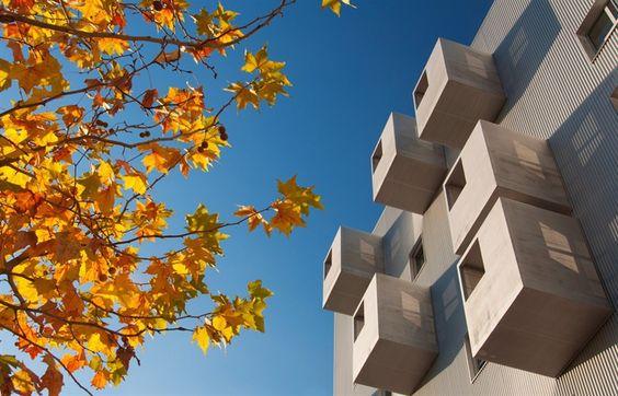 168 VIVIENDAS EN CARABANCHEL  MADRID / SPAIN / 2007 coco arquitectos – Laura Sánchez y Jorge Martínez #architecture #arquitectura