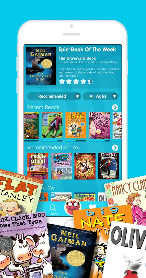 Instantly access 20,000 highquality books for kids