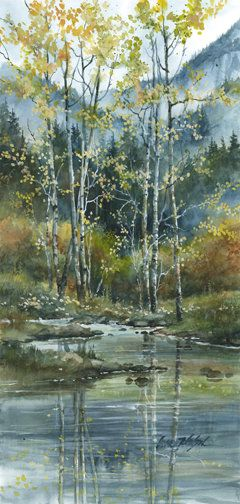 Fall Aspens | Lance Johnson Paintings: