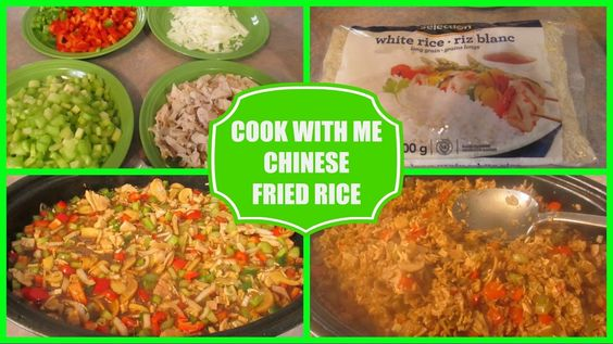 Cook With Me -- Chinese Fried Rice